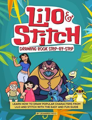Lilo And Stitch Drawing Book Step By Step Learn How To Draw Popular