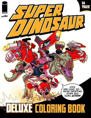 Super Dinosaur Deluxe Coloring Book