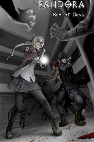 PANDORA: End of Days - BOOK 2 - Zombie Survival Horror Manga Comic Book Graphic Novel: Paranormal / Survival Horror / Zombie / Apocalypse Manga Comic Book