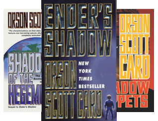 The Ender's Shadow Series Boxed Set: Ender's Shadow, Shadow of the Hegemon, Shadow Puppets, Shadow of the Giant (The Shadow Series) (4 Book Series)