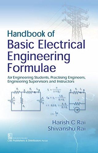 Handbook of Basic Electrical Engineering Formulae