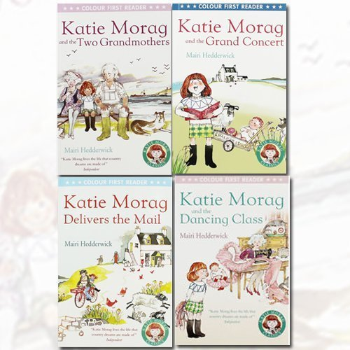 Katie Morag Collection 4 Books Bundle (Katie Morag And The 2 Grandmothers, Katie Morag Delivers The Mail, Katie Morag And The Grand Concert, Katie Morag and the Dancing Class)