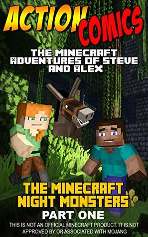 Action Comics: The Minecraft Adventures of Steve and Alex