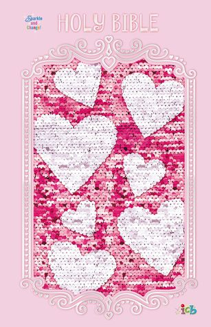 ICB, Sequin Sparkle and Change Bible, Hardcover, Pink by Anonymous