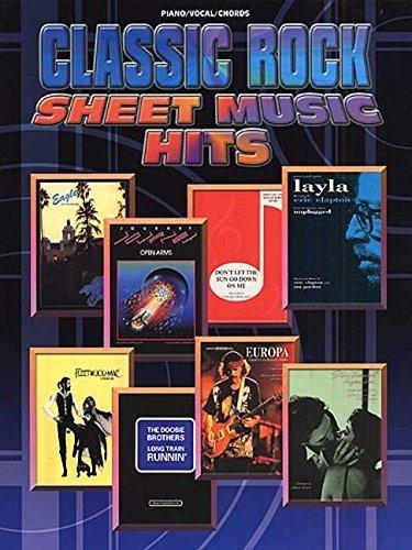 Classic Rock: (Piano, Vocal, Guitar) (Sheet Music Hits)