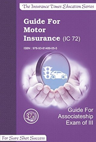 MCQ Guide Book for MOTOR INSURANCE IC72