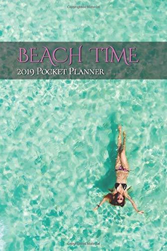 Beach Time 2019 Pocket Planner: Keep a little warm ocean breeze in your daily life with this purse sized pocket planner. It is always summer no matter how cold it is outdoors!