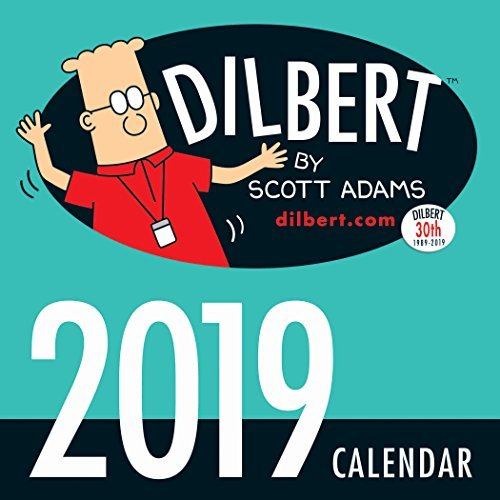 Dilbert 2019 Mini Wall Calendar