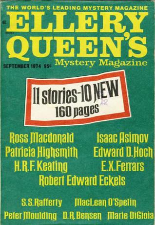 Ellery Queen's Mystery Magazine September 1974
