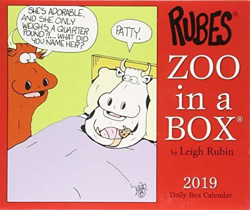 Zoo in a 2019 Box Calendar