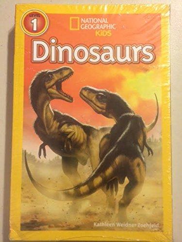 National Geographic Kids 10 Book Set (Lvl 1-dinosaurs, Meetkats, Frogs, Polar Bears, Ponies; Lvl 2-dolphins, Sharks, Snakes, Weird Sea Creatures, Penguins [Paperback]