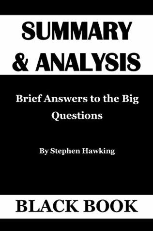 Brief answers to the big questions pdf free download and install