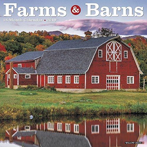 Farms & Barns 2019 Wall Calendar