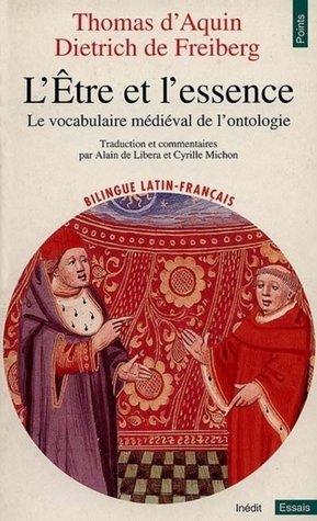L'être et l'essence : le vocabulaire médiéval de l'ontologie