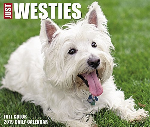 Just Westies 2019 Box Calendar
