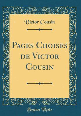 Pages Choises de Victor Cousin