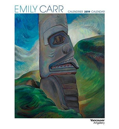Emily Carr 2019 Wall Calendar