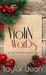 Violin Words by Taylor Dean