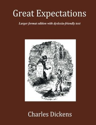 Great Expectations: Large format edition with dyslexia-friendly text