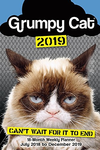 Grumpy Cat 2019 18-Month Weekly Planner, 6 x 9, (CW-0490)