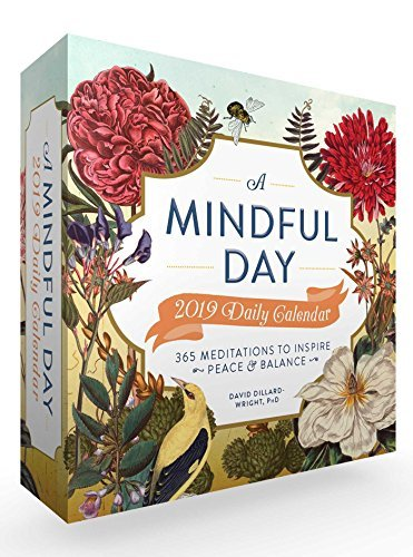 A Mindful Day 2019 Daily Calendar: 365 Meditations to Inspire Peace  Balance