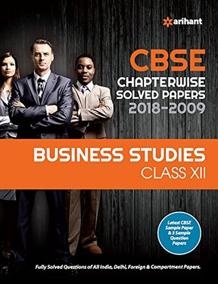 CBSE Chapterwise Solved Paper Business Studies Class 12 for 2018-2019
