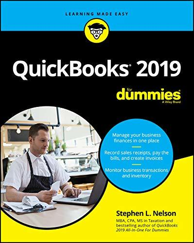 QuickBooks 2019 For Dummies (For Dummies