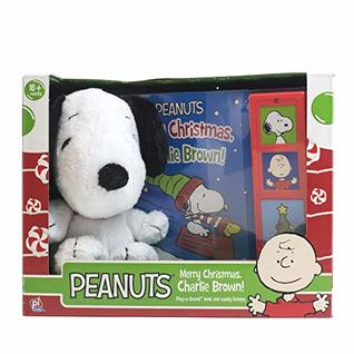 Peanuts Merry Christmas, Charlie Brown! - Snoopy Plush Included - Play-a-Sound