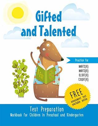 Gifted and Talented Test Preparation Workbook for children in preschool and kindergarten Test prep Practice test