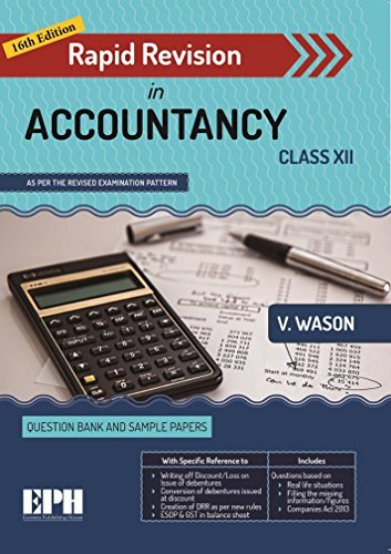 Rapid Revision in Accountancy for Class 12 (2019 Exam)