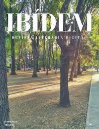 Revista literaria Ibídem 1