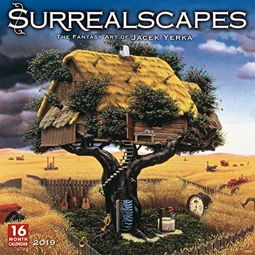 2019 Surrealscapes the Fantasy Art of Jacek Yerka 16-Month Wall Calendar: By Sellers Publishing