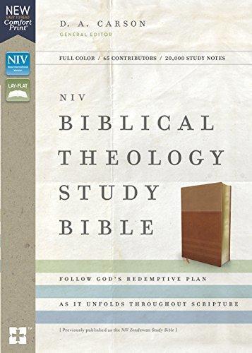 NIV, Biblical Theology Study Bible: Follow God's Redemptive Plan as It Unfolds throughout Scripture