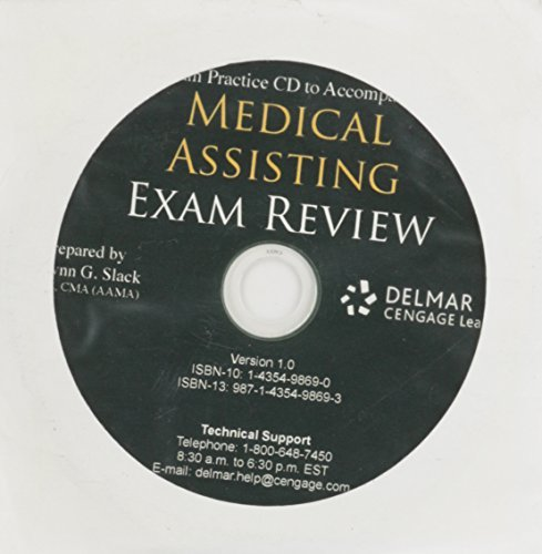 Exam Practice CD for Cody's Medical Assisting Exam Review: Preparation for the CMA and Rma Exams