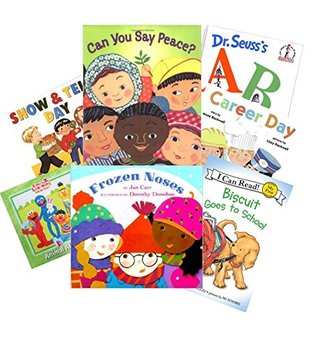 Library w/ Read Out Loud Pack: I Spy; Chicka Chicka Boom Boom; Dora the Explorer; Arthur's Baby; Dw All Wet; Abc; the Fire Engine Book; a Frog Grows (Classroom Library Books:Pre School - Kindergarten)