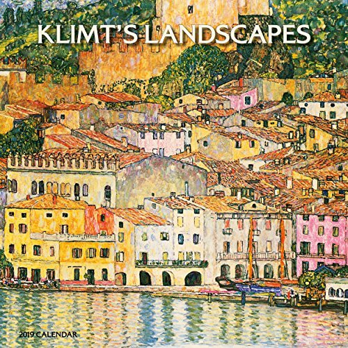 Klimt's Landscapes 2019 Wall Calendar