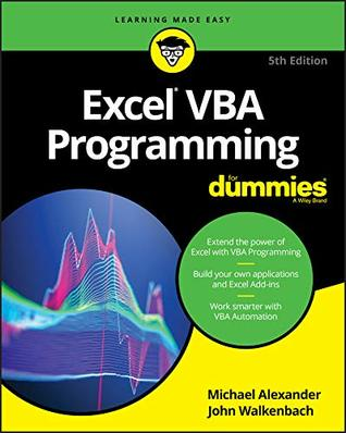 Excel VBA Programming For Dummies (For Dummies