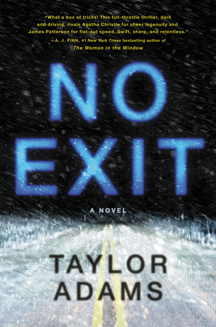 No Exit thriller set in Colorado in winter