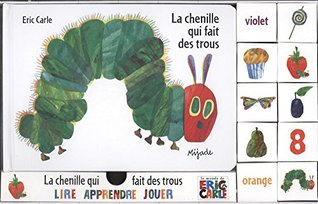 La chenille qui fait des trous COFFRET livre + Cubes [ The Very Hungry Caterpillar Book and Blocks ]