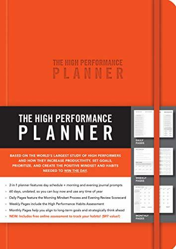 The High Performance Planner [orange]