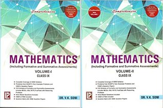 Comprehensive Mathematics Vol-I & II IX (Including Formative and Summative Assessments 2 Vol Set)