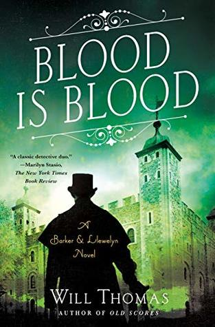Blood Is Blood (Barker & Llewelyn #10)