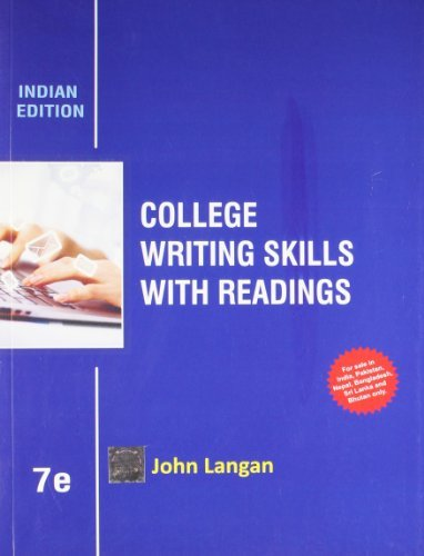 College Writing Skills for Readings