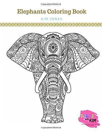 ELEPHANTS COLORING BOOK: An Elephants Coloring Book