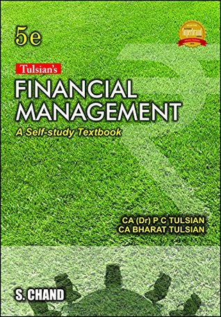 Financial Accounting Book By Pc Tulsian