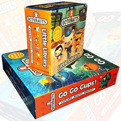 Octonauts Pocket Library Collection 10 Books Set