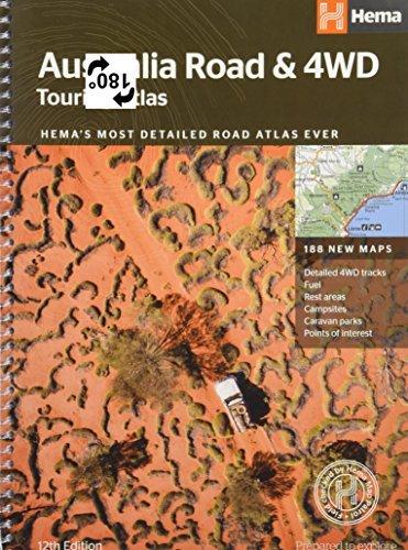 Australia Road & 4WD touring atlas A4