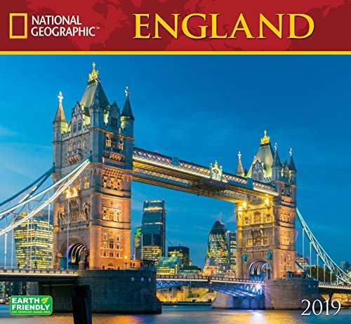 National Geographic England 2019 Wall Calendar