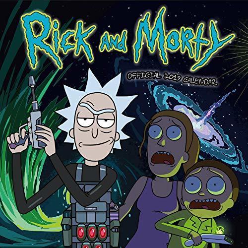 Rick and Morty Official 2019 Calendar - Square Wall Calendar Format