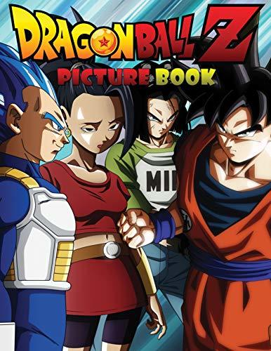 Dragon Ball Z: Jumbo DBS Picture Book: Over 100 High Quality Colored Pages (Volume 1) (DBZ Picture Books)